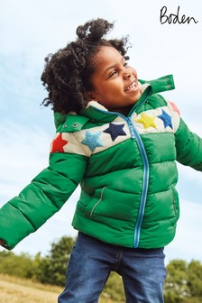 Boden Green Cosy Padded Jacket