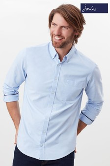 Joules Blue Classic Laundered Oxford Shirt