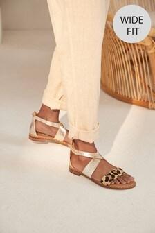Signature Comfort Studded Sandals