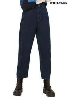 Whistles Dark Blue Authentic Barrel Jeans