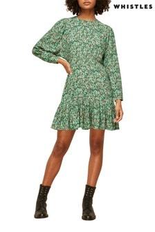Whistles Floral Heath Dress