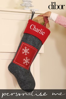 Personalised Star Stocking by Dibor