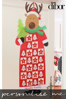 Personalised Family Advent Calendar by Dibor