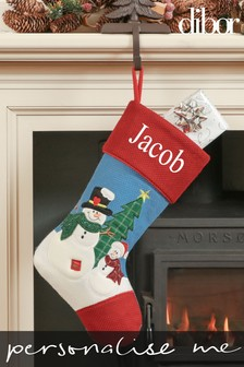 Personalised Festive Stocking by Dibor