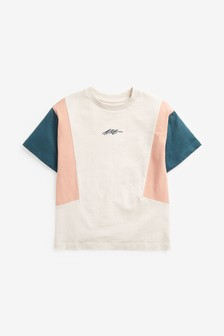 Colourblock Jersey T-Shirt (3-16yrs)