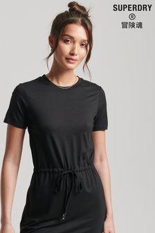 Superdry Drawstring T-Shirt Dress
