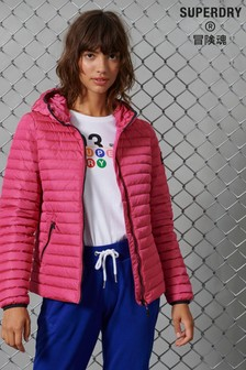 Superdry Pink Down Coat