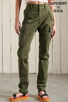 Superdry Grey Slim Cargo Pants