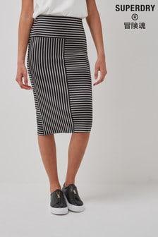Superdry Classic Jersey Midi Skirt