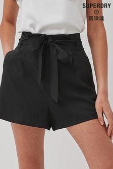 Superdry Lyocell Paperbag Waist Shorts