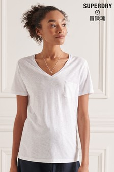 Superdry V-Neck Pocket T-Shirt
