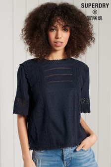 Superdry Anni Lace Top