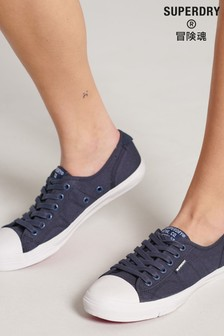 Superdry Navy Low Pro Trainers