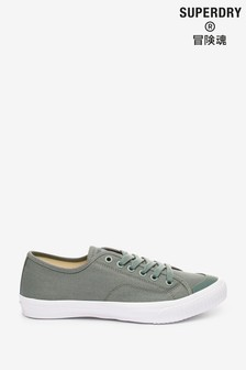 Superdry Green Low Pro 2.0 Trainers