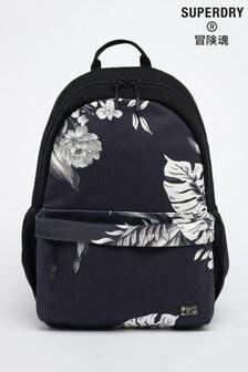 Superdry Black Cali Print Montana Bag