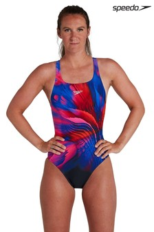 Speedo Printed Swimsuit