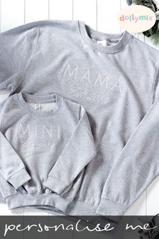 Personalised Est. Mama Matching Jumper by Dollymix