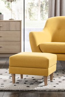Danby Storage Footstool With Light Legs