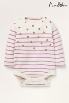 Boden Pink Colourful Breton Body