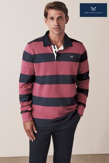Crew Clothing Pink Corebett Rugby T-Shirt