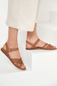 Forever Comfort® Slotted Sandals