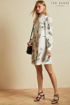 Ted Baker Leyora Elderflower Lace Tunic Dress