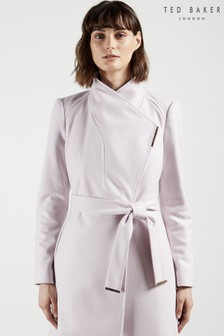 Ted Baker Rose Mid Length Wool Wrap Coat