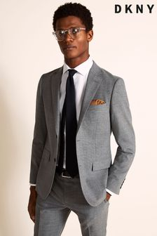 DKNY Slim Fit Grey Jacket