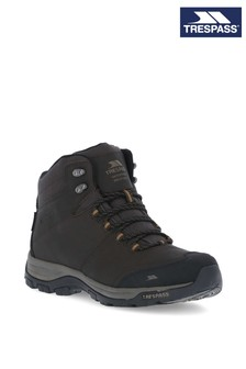 Trespass Brown Hiram - Male Mid Cut Boots