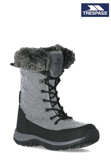 Trespass Grey Esmae - Female Snow Boots