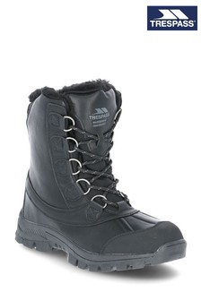 Trespass Black Kareem - Male Snow Boots