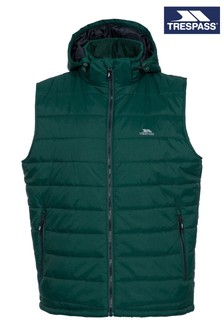 Trespass Green Franklyn Male Padded Gilet