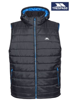 Trespass Black Franklyn Male Padded Gilet