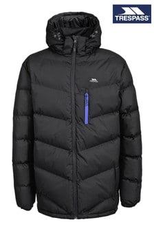 Trespass Black Blustery Male Padded Jacket