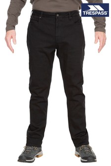 Trespass Black Yockenwaite Male Adventure Trousers