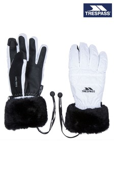 Trespass White Yanki Female Gloves
