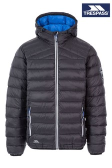 Trespass Black Whitman II Male Down Jacket