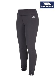 Trespass Black Vivien Female Active Leggings