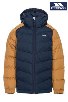Trespass Brown Sidespin Male Padded Jacket