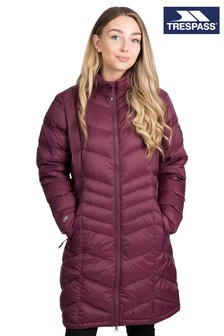 Trespass Brown Micaela Female Down Jacket