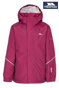 Trespass Red Marilou Female Rain Jacket