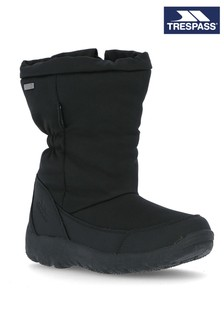 Trespass Black Lara II Female Snow Boots