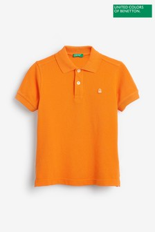 Benetton Logo Polo Shirt