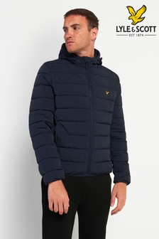 Lyle & Scott Navy Lightweight Padded Jacket