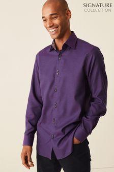 Signature Trimmed Shirt