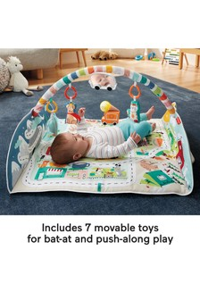 Activity City Gym To Jumbo Play Mat