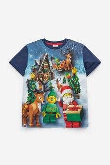 Christmas LEGO T-Shirt (2-12yrs)