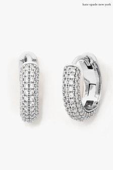 kate spade new york 'Brilliant Statements' Pave Huggie Earrings