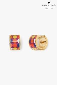 kate spade new york Heritage Spade Polka Dot Huggie Earrings