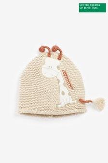 Benetton White Character Hat